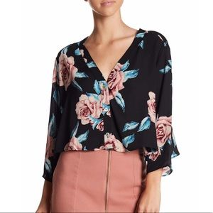 Show me your Mumu uptown button front blouse